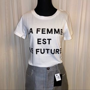 NWT French Connection Women's Graphic T-Shirt